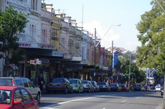 Glebe Point Road Source photo : Pinterest